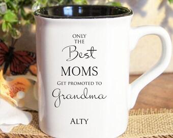 Personalized coffee mugs, Custom coffee mugs, Engraved coffee mugs, Only best moms Mugs
