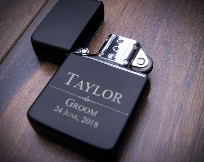 Groomsman Personalized Lighter, Personalized lighter, Christmas gifts, Groomsman Gifts, Best man Gifts. Grooms Gift, weddings gifts