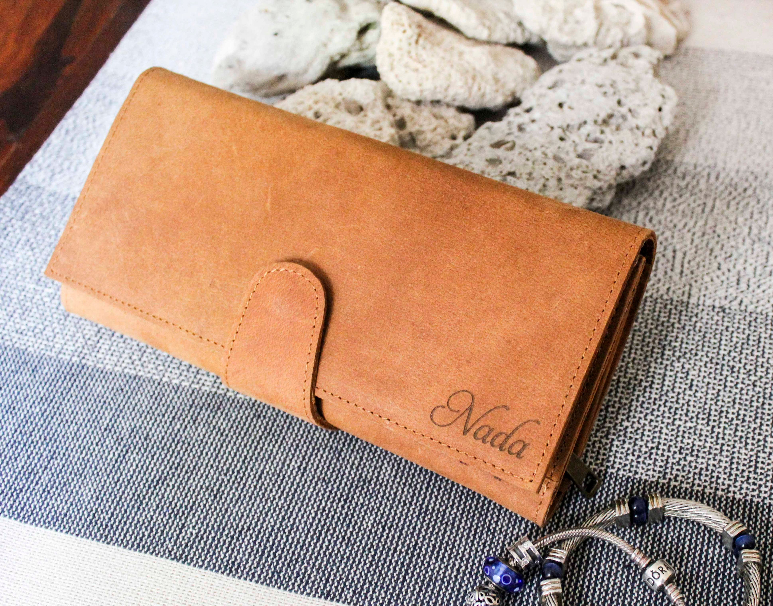 Personalized Leather Wallet, Gifts For Women, Personalized Women ...