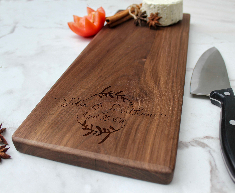 Personalized Cheese Board Customized Cheese Board Custom Cutting