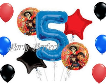ON SALE Number 1-9 Coco theme Balloon Bouquet