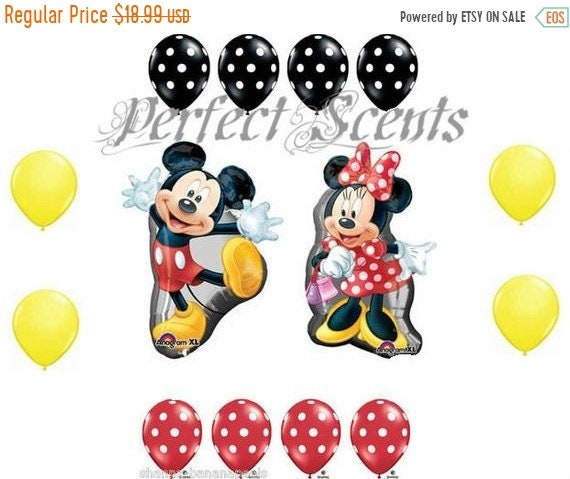 cd1e2dadc11 On Sale 14 Piece Large Mickey and Minnie Mouse Full Bodys