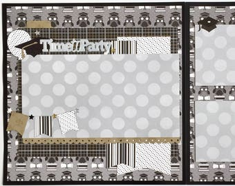 Time to Party 2 Page Scrapbook Kit