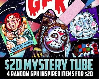 5 Print Mystery GPK Pack Grab Bag - 5 Garbage Pail Kids 4 X 6 Prints / Large Trading Cards