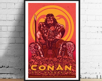 Conan The Barbarian 11 x 17 Movie Poster Art Print