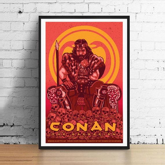 Conan The Barbarian 11 X 17 Movie Poster Art Print