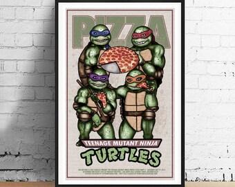 Teenage Mutant Ninja Turtles 11 x 17 Art Print