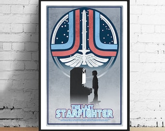 The Last Starfighter 11x17 Limited Edition 80's Alternate Movie Poster Art Print