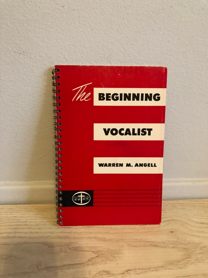 1956 The Beginning Vocalist Warren M. Angell Vintage Church image 0
