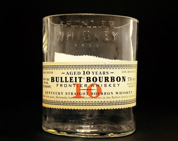 Bulleit Bourbon 10-Year Whiskey Bottle Candle