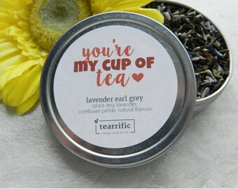 Gift for Friend - Gift for Girlfriend - Present for Women - Just Because - Teacher - Graduation - Small Gift - Mother Gift - Tea Lover Gift
