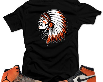 70f69db870e669 Shirt to match Air Jordan 1 Shattered Backboard Sneakers-The Chief 1 Black  tee