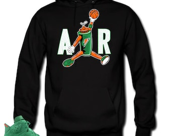 6afabeeb0607 Hoodie to match Jordan 6 NRG Gatorade. AIR Black