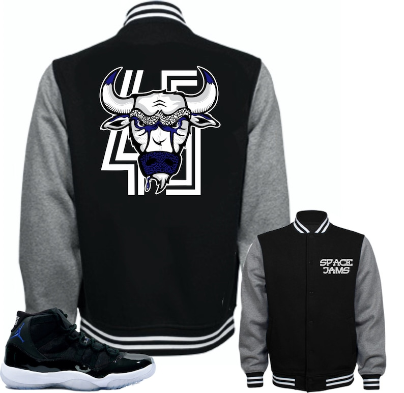 ae1119fcbffc Jacket to match Air Jordan 11 Space Jam Shoes Bull