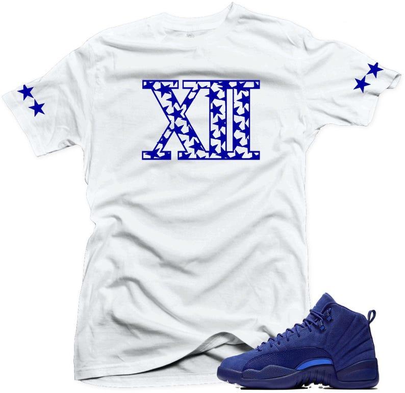 pretty nice b75fc 59580 Shirt to match Jordan 12 Deep Royal Blue