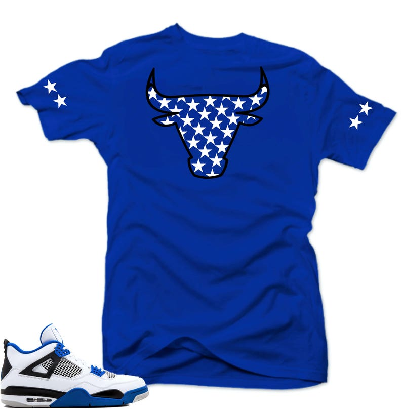 best service 2b518 35c32 Shirt to match Air Jordan Retro 4 Motorsport sneakers   Etsy