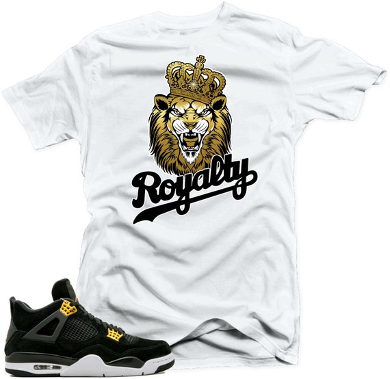 df2e47941d837 T Shirt to Match Air Jordan 4 Royalty Shoes