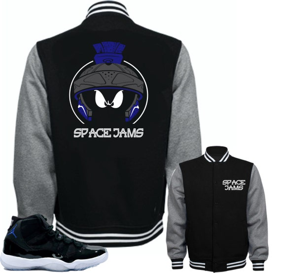Jacket To Match Air Jordan 11 Space Jam Shoes Marvin Etsy