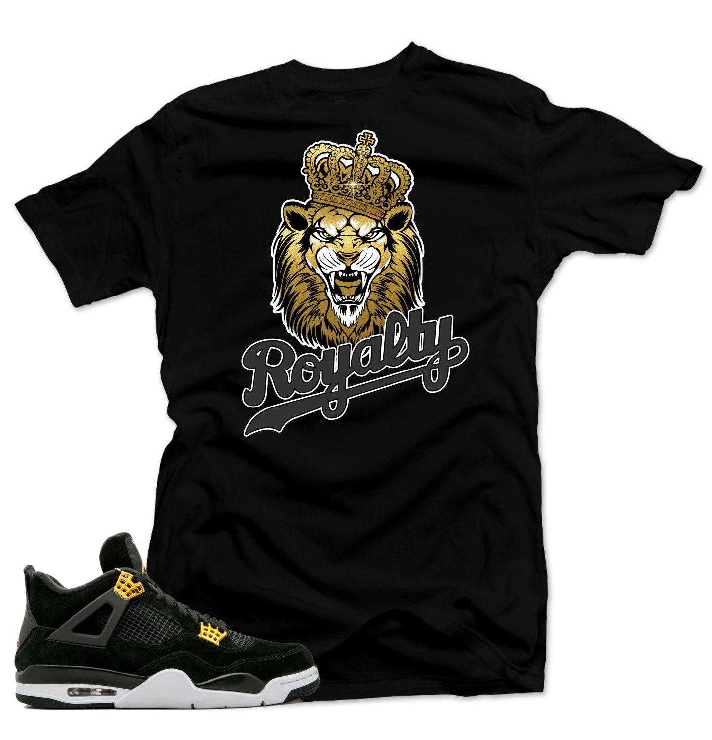 6131e2d6b69af T Shirt to Match Air Jordan 4 Royalty Shoes