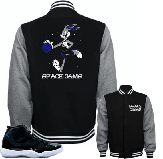 2c1e8003b93b8a Jacket to match Air Jordan 11 Space Jam Shoes Bugs