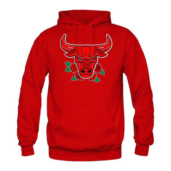 sale retailer 6c7da 64bb1 Hoodie to Match Jordan 12 Bulls- Bull 12 Red
