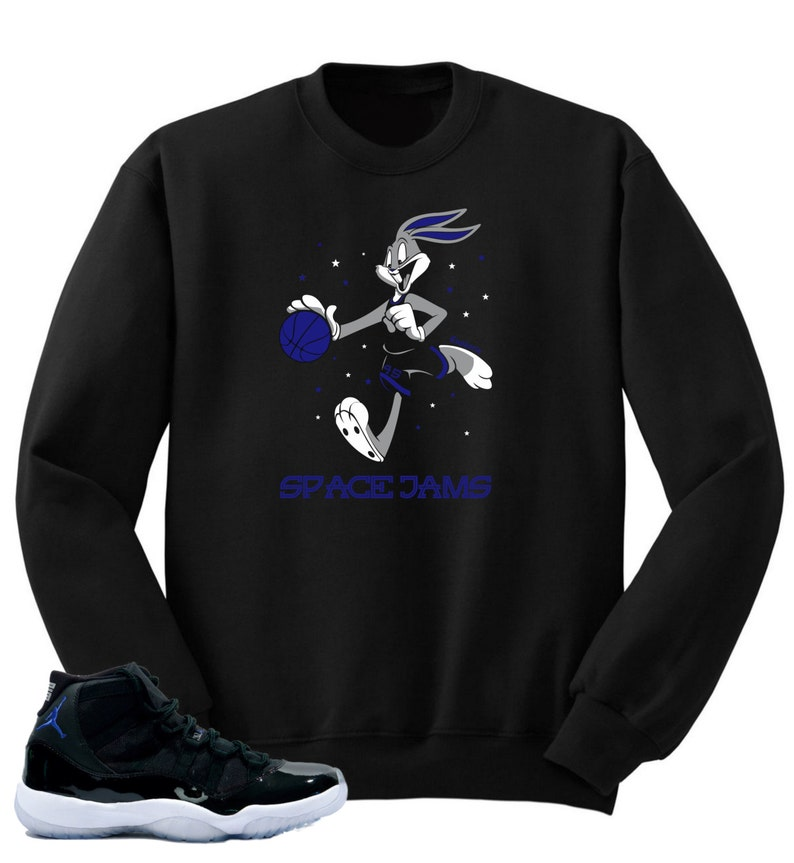5c5a0d223b39 T shirt to match Air Jordan 11 Space Jam Shoes