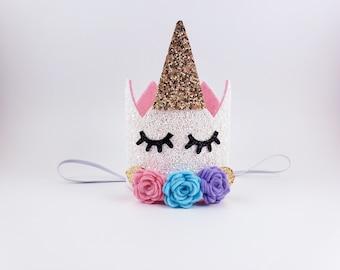 Ice Cream Birthday Hat Two Sweet Birthday Hat Donut Birthday Hat Cotton Candy Birthday Hat Bubblegum Birthday Hat Unicorn Birthday Hat