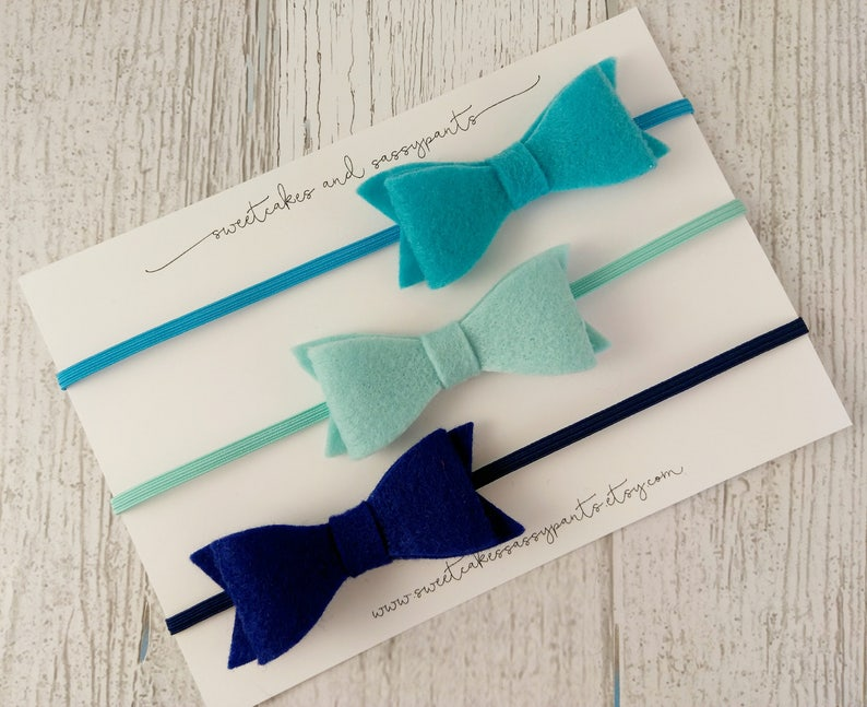 girly headbands bows for babies -simple hair bows baby headbands headband set felt hair bows set of bows hair bows for girls