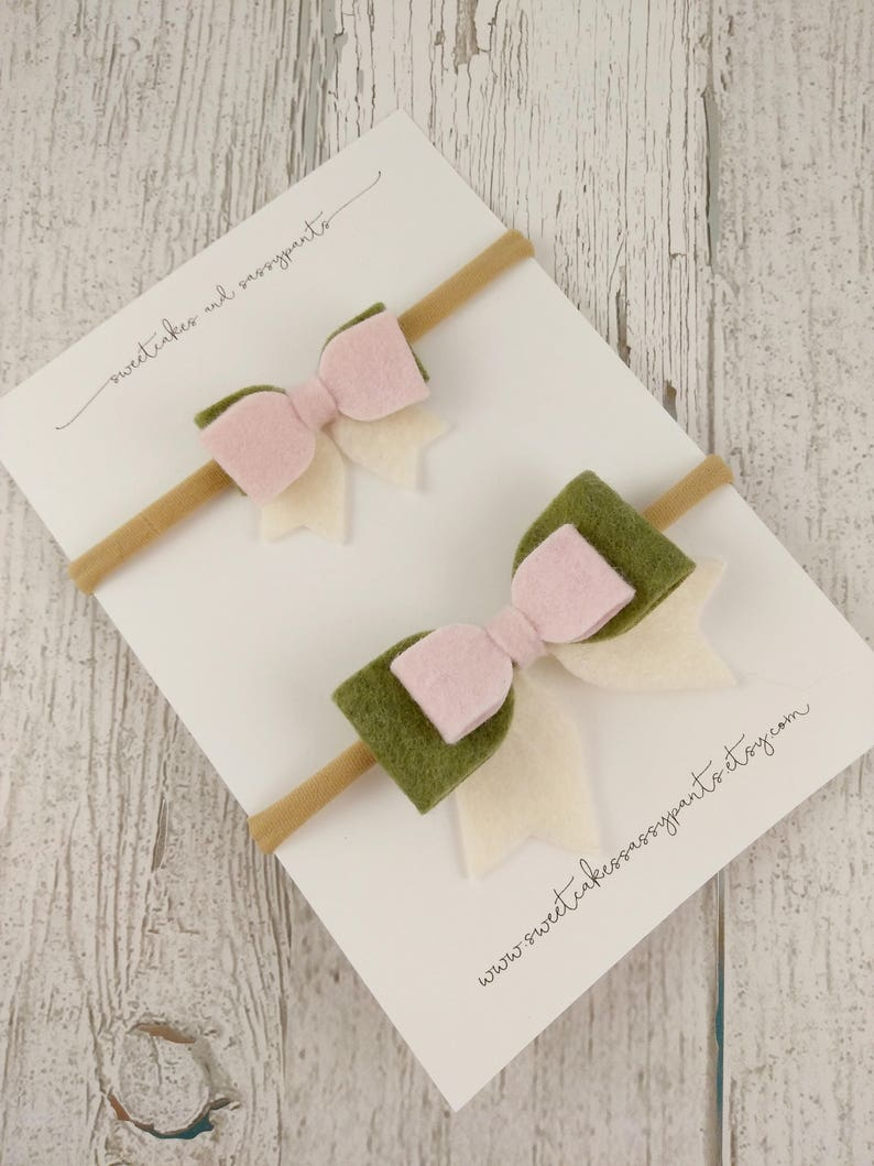 mommy and me headbands big and little sister bow set big and little sister headbands matching headbands sister set mommy and me bows