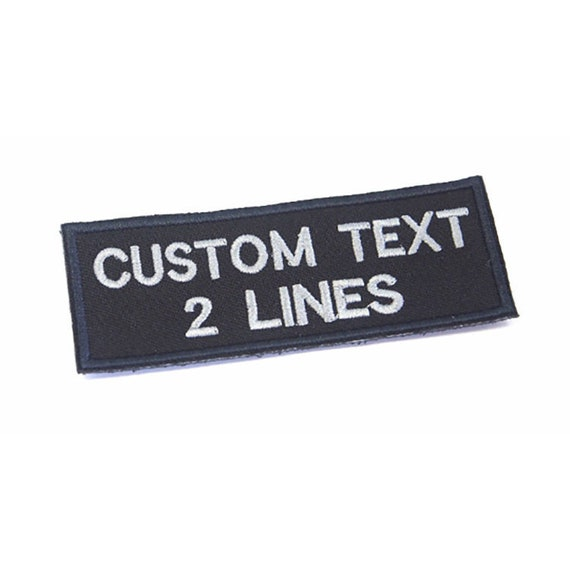 """BACK TO THE FUTURE Name//Text 4/"""" EMBROIDERED Iron//Sew On Patch"""