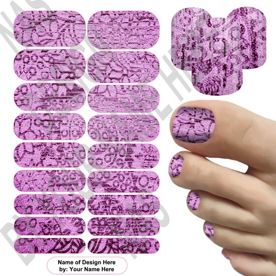 1 pedi mockup nas designer template foot template only nail wrap