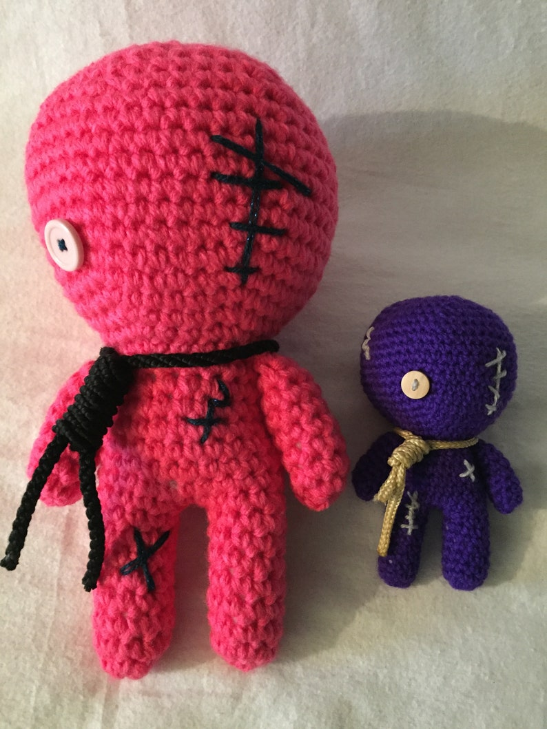 crochet pattern, english or german, zombie   1059x794