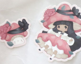Vinyl Sticker - Mushroom Princess
