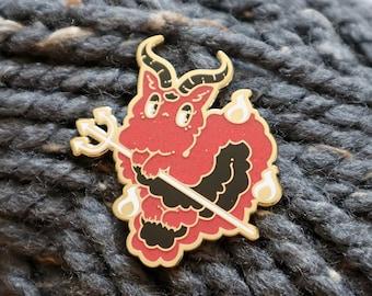 Long Satan Furby Pin