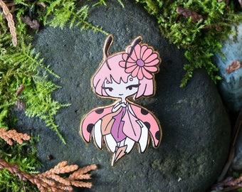 Ladybug Fairy Pin