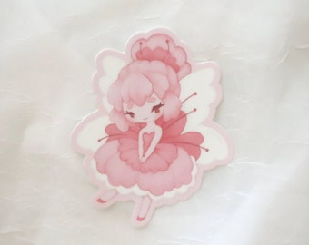 Vinyl Sticker - Cherry Blossom Fairy