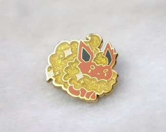 Fiesty Flame Boy Pin