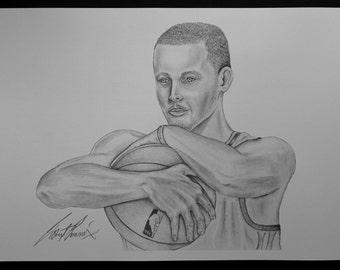 Stephen Curry MVP Print 94480f792