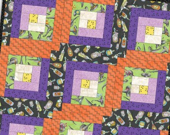 Salem Quilt Show Log Cabin Precut Quilt Kit Pod by Meg Hawkey for Maywood Studio POD-MAS02-SQS