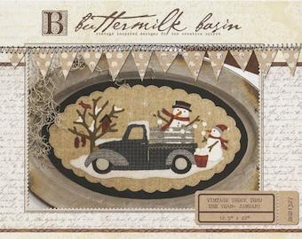 Buttermilk Basin Vintage Truck Patterns Thru The Year BMB 1327 1345