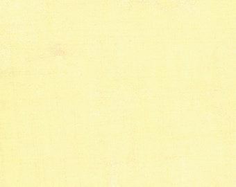 Grunge Fabric Lemon Grass // BasicGrey // Moda Fabrics 30150 92 by the HALF YARD