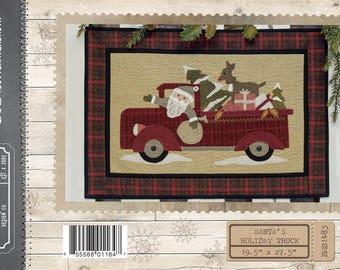 Santa's Holiday Truck Wool Pattern by Buttermilk Basin 1483