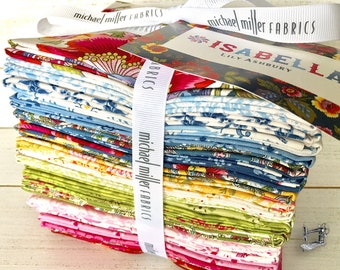 Isabella Fat Quarter Bundle by Lily Ashbury for Michael Miller Fabrics