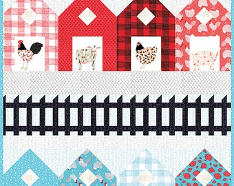 Fences Quilt Pattern by Gingiber G021