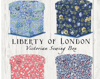 Liberty of London Fold Out Sewing Kit//Box LINA04-04775627W