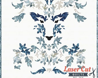 The Stag Winter Laser Cut Quilt Kit by Madi Hastings for Laser Quilts