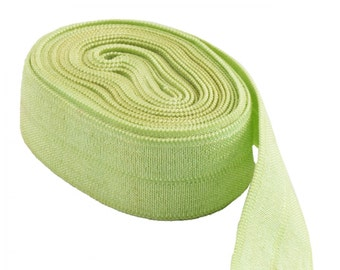 ByAnnie Fold Over Elastic SUP206 Apple Green