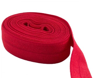 ByAnnie Fold Over Elastic SUP206 Red