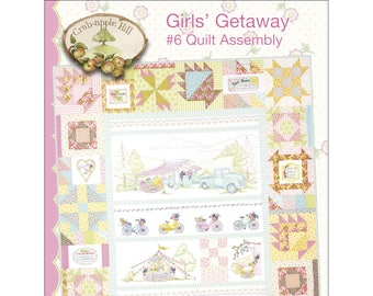 Girls Getaway #6 Mystery Quilt Assembly by Meg Hawkey CAH2558