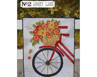 2 Abbey Lane Blossoms & Spokes Quilt Pattern ABL310